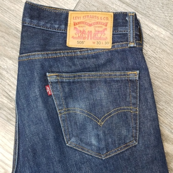 Levi's Other - Levi's 505 30 x 30  straight cut